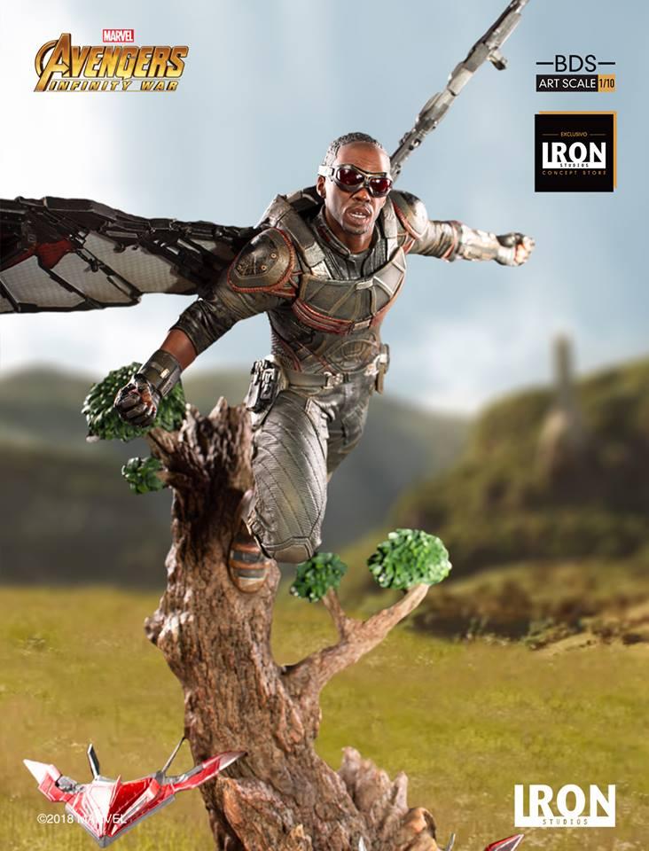 Iron Studios - Falcon BDS Art Scale 1-10 - Avengers Infinity War (2)