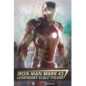 Sideshow Collectibles - Avengers 2 : AOU Iron Man Mark 43 LSF