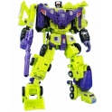 Takara Tomy - Transformers Master Piece - Unite Warriors UW-04 Devastator with coins