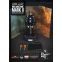 P.I. - Super Alloy - 1/12 Scale - Iron Man 3 - War Machine Mark II Figure