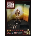P.I. - Super Alloy - 1/12 scale - Iron Man 3 - Mark 42 Figure
