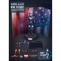 P.I. - Super Alloy - 1/12 Scale - Iron Man 3 - Iron Patriot Figure