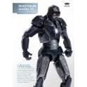 Comicave Studios  - 1/12th scale - Iron Man 3: Shotgun (Mark XL)