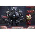 Hot Toys - COSB269 - Iron Man - Iron Man Mark III (Battle Damaged Version) & Iron Monger Cosbaby Set