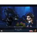 Hot Toys - COSB295 - Aliens - Ellen Ripley & Alien Queen Cosbaby(S) Collectible Set