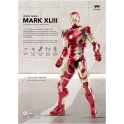 Comicave Studios  - 1/12th scale - 1/12th scale - Iron Man 3: Mark XLIII