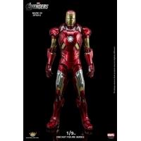 King Arts - 1/9th Diecast Figure Series -  Iron Man Mark 7