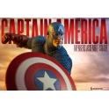 Sideshow Collectibles - Avengers Assemble Captain America Statue