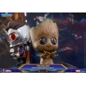Hot Toys - COSB361 - Guardians of the Galaxy Vol.2 - Cosbaby Bobble-Head Series - Star Lord and Groot Collectible Set