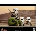 Hot Toys - COSB387 - Star Wars: A New Hope - Sandtrooper & Dewback Cosbaby (S) Bobble-Head