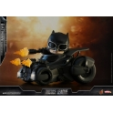 [Pre-Order] Hot Toys - COSB399 - Justice League - Batman & Batmobile Cosbaby (S) Collectible Set