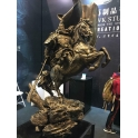GuanGong on Horse (plated copper)