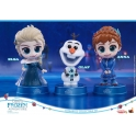 [Pre-Order] Hot Toys - COSB420 - Olaf's Frozen Adventure - Olaf, Elsa, Anna Cosbaby