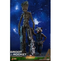 [Pre-Order]  Hot Toys - MMS475 - Avengers Infinity War - Groot Collectible Figure