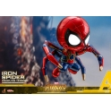 [Pre-Order] Hot Toys - COSB431 - Avengers: Infinity War - Cosbaby (S) Bobble-Head - Iron Spider (Crawling Version)