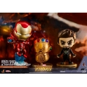 [Pre-Order] Hot Toys - COSB464 - Avengers: Infinity War - Cosbaby (S) Bobble-Head - Tony Stark, Iron Man, Infinity Gauntlet
