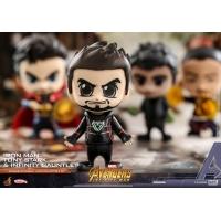 [Pre-Order] Hot Toys - COSB464 - Avengers: Infinity War - Cosbaby (S) Bobble-Head - Tony Stark, Iron Man, Infinity Gauntlet