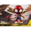 [Pre-Order] Hot Toys - COSB470 - Avengers: Infinity War - Cosbaby (S) Bobble-Head - Avengers: Infinity War Movbi with Iron Man