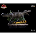 Iron Studios - T-Rex Attack BDS Art Scale 1/10 - Jurassic Park (SET A)