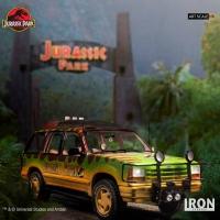 Iron Studios - T-Rex Attack BDS Art Scale 1/10 - Jurassic Park (SET A)