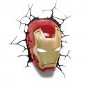 3D Light FX - Iron Man 3 Mask 3D Deco Light