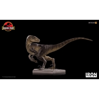 [Pre-Oder] Iron Studios - Crouching Velociraptor Art Scale 1/10 - Jurassic Park