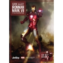 Super Alloy 1/6 Scale Iron Man Mark VII w Hall of Armor