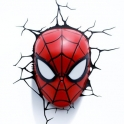 3D Light FX - Spiderman Mask 3D Deco Light