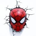 3D Light FX - Spiderman Mask 3D Deco Light