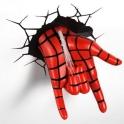 3D Light FX - Spiderman hand 3D Deco Light