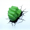 3D Light FX -Hulk Fist 3D Deco Light
