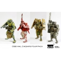 3A - 1/12th - Caesar (retail exclusive) - set of 4