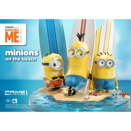 [Pre-Order] PRIME1 STUDIO - PCFMINI-01: MINIONS ON THE BEACH (DESPICABLE ME & MINIONS SERIES)