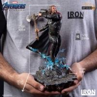 [Pre-Oder] Iron Studios - Iron Spider Vs Outrider BDS Art Scale 1/10 - Avengers: Endgame