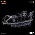 Iron Studios - Batman & Batmobile Deluxe Art Scale 1/10 - Batman (1989)