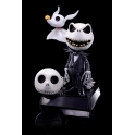 Hybrid Metal Action Figuration - Jack Skellington & Zero