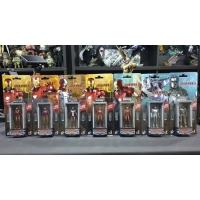 Hot Toys - MMSC005-MMSC012 - Iron Man 3 - Iron Man Hall of Armor Miniature Collectible