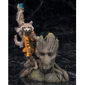 Kotobukiya - ARTFX+ - Guardians Of The Galaxy - Rocket Raccoon