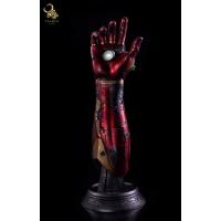 Taurus Studio - Custom 1/1 Iron Man Battle Damage Nano Gauntlet