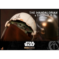 [Pre-Oder] Hot Toys - TMS015 - The Mandalorian - 1/6th scale The Mandalorian and The Child Collectible Set (Deluxe Version)