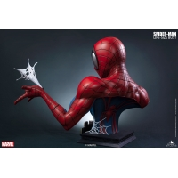 Queen Studios - Comic Spider-Man Bust (Red/Blue)
