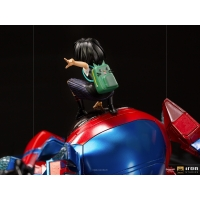 [Pre-Order] Iron Studios - Peni Parker & SP//dr Deluxe BDS Art Scale 1/10 – Spider-Man: Into the Spider-Verse