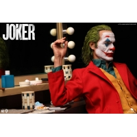[Pre-Order] QUEEN STUDIOS 1:3 JOKER PHOENIX STATUE Deluxe Edition (Rooted Hair with Hollywood Mirror Scene)