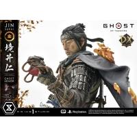[Pre-Order] PRIME1 STUDIO - UPMGHOT-01DX: JIN SAKAI, THE GHOST - GHOST ARMOR EDITION DELUXE VERSION (GHOST OF TSUSHIMA)