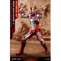 Hot Toys – MMS400D18 - Iron Man 2 - 1/6th scale Iron Man Mark V Collectible Figure