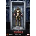 Hot Toys - Iron Man 3 - Hall of Armor (House Party Protocol Ver.) Collectible