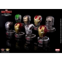 ]King Arts - Iron Man 3  - Deluxe Helmet - Series 3