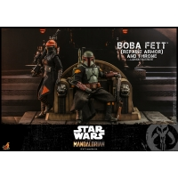 [Pre-Order] Hot Toys - TMS056 - Star Wars: The Mandalorian - 1/6th scale Boba Fett (Repaint Armor) and Throne Collectible Set