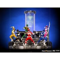 [Pre-Order] Iron Studios - Black Ranger BDS Art Scale 1/10 - Power Rangers