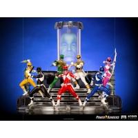 [Pre-Order] Iron Studios - Red Ranger BDS Art Scale 1/10 - Power Rangers